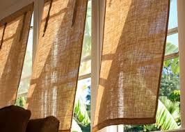 DIY Burlap Window Coverings | Window Coverings, Burlap And Window