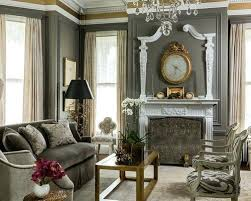 formal living room furniture. Colored Living Room Furniture Example Of A Classic Formal Design In With Gray Walls And Standard Painted