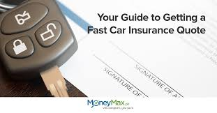 your guide to getting a fast car insurance quote moneymax ph