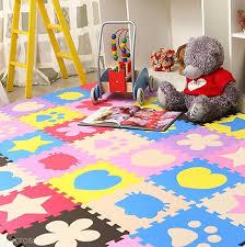 10pcs soft eva foam mat pad diy puzzle floor baby kids toddler play crawling rugs children