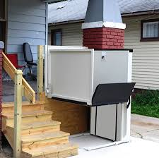 wheelchair lift for home.  Home Vertical Wheelchair Lift Throughout For Home S