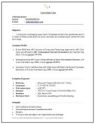 New Resume Format Download Resume Template Directory