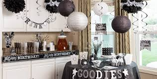 black white birthday party supplies party city canada