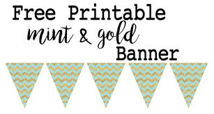 Free Printable Banners Free Printable Birthday Banner Ideas Paper Trail Design