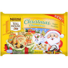 nestle christmas cookies. Unique Christmas Nestle Toll Christmas CharaCounters Sugar Cookie Dough 16 Oz 24 Count Inside Cookies S