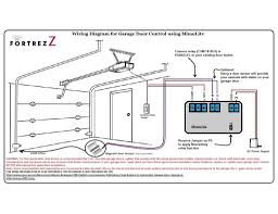 garage doors wiring diagram sears door opener craftsman and genie prepossessing sensor