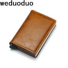 <b>Weduoduo New</b> Antitheft Men And <b>Women</b> Credit Card Holder RFID ...