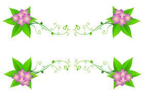 spring flowers border clipart. Modren Border View Full Size  Inside Spring Flowers Border Clipart I