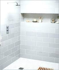 beveled subway tile shower light gray subway tile light gray subway tile shower a modern looks best ideas about shower beveled subway wall tile