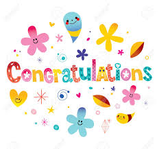 Congratulations Design Congratulations Typography Lettering Decorative Text Card Design