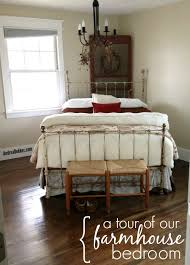 a tour of our farmhouse bedroom andrea dekker