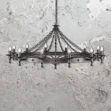 wrought iron lighting chandelier