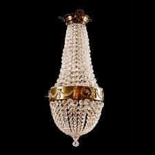scandinavian tear drop chandelier in the empire style