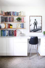 Built In Office Desk And Cabinets Make Your Own Custom Built In Desk A Beautiful Mess