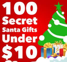 100 secret santa gifts under 10 100 secret santa gifts under 10