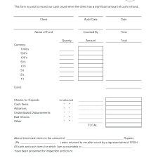 Daily Reconciliation Sheet Template