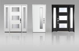 white front door. Contemporary Front Modern Entry Doors  Clopay Intended White Front Door