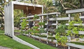 Landscaping garden fence