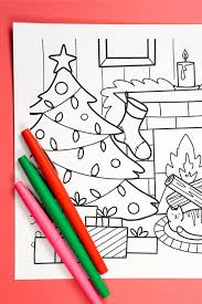 These valentines day coloring pages printable are ideal for kids of all ages. Free Printable Christmas Coloring Page Hey Let S Make Stuff