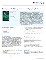 12 Olympians Chart The Lightning Thief Percy Jackson And The Olympians Book One