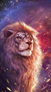 cool lion wallpaper with totem tattoo