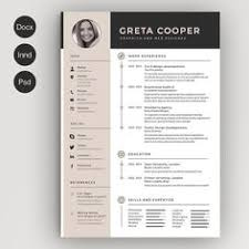 Free Creative Resume Templates Microsoft Word Best Of Modern Resume Template Single Page Resume Template Cover Letter