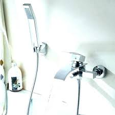 tub and shower combo attractive with regarding to converter spout diverter stuck