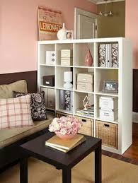 furniture for studio. studio apartment decorating use an ikea cube organizer for a furniture