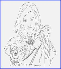 Disney Descendants Coloring Pages Luxury 16 Inspirational Coloring