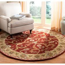 safavieh handmade heritage timeless traditional red gold wool rug 6
