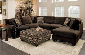 dark brown sectional home elements and style medium size best brown sectional sofa ideas on leather with chaise ashley