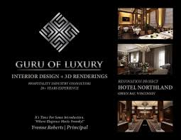 Hospitality Interior Design Inspiration GURU OF LUXURY INTERIOR DESIGN 48D RENDERINGS HOTEL NORTHLAND R