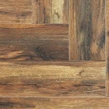 wood look tile flooring herringbone pattern bathroom
