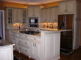 Glazed White Kitchen Cabinets Pictures Wow Blog