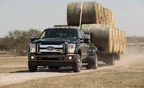 2016 ford f 350 super duty sel v 8 first drive 8211 review 8211 car and driver