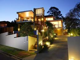 contemporary home lighting. Backgrounds Exteriors Modern Design Home Outdoor With Exterior House Light Hd For Laptop Contemporary Lighting