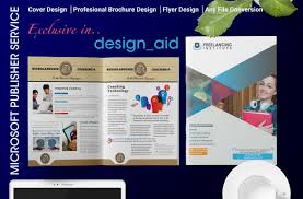 Design Microsoft Publisher Flyer Brochure Or Any Template