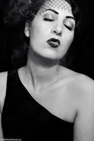old hollywood film noir makeup tutorial 3