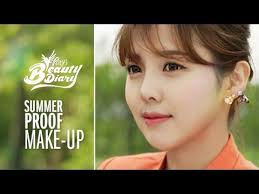 pony s beauty diary summer proof makeup with subs