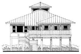 coastal house plans. #116-1006 · This Is The Front Elevation Of These Florida Coastal House Plans . T