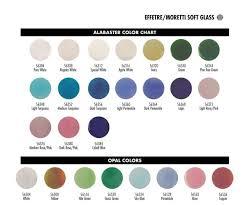 Effetre Color Chart Color Charts Mountain Glass Arts