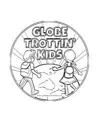 Print Color Share Globe Trottin Kids