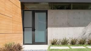 aluminium hinged entry door urban plus