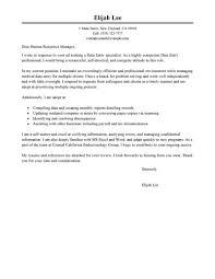 Cover Letter Sample Clerk Position Tomyumtumweb Com
