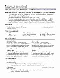 Writer Resume Template Simple Freelance Writer Resume Template Fresh Freelance Writer Resume