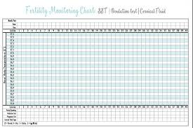 Fertility Tracking Chart Printable Opk Test Chart Bedowntowndaytona Com