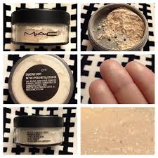 rare mac loose highlight powder in dancing light