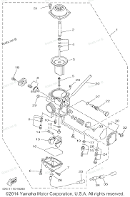 Yamaha kodiak wiring diagram yamaha no spark of moto yfm350erf atv carburetor on for timberw