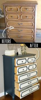 diy furniture makeover. DIY Furniture Makeovers - Refurbished And Cool Painted Ideas For Thrift Store Makeover Projects | Coffee Tables, Dressers Diy N