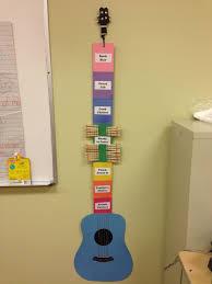 My Rockstar Guitar Behavior Chart Music Classroom